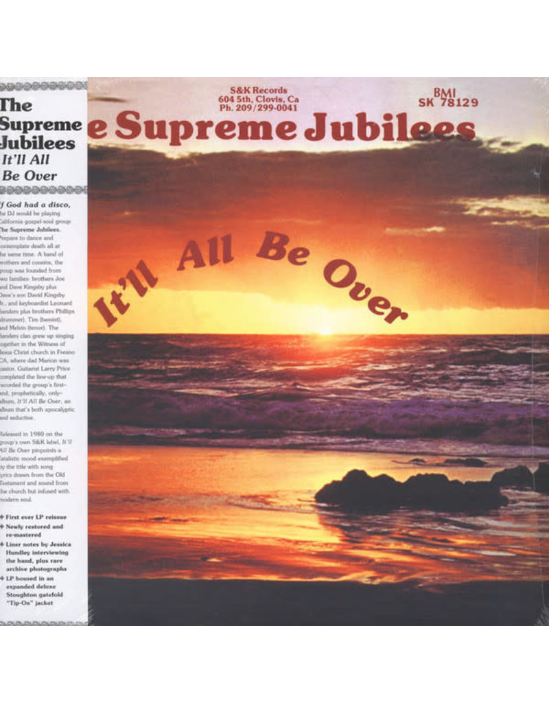 FS The Supreme Jubilees – It'll All Be Over LP