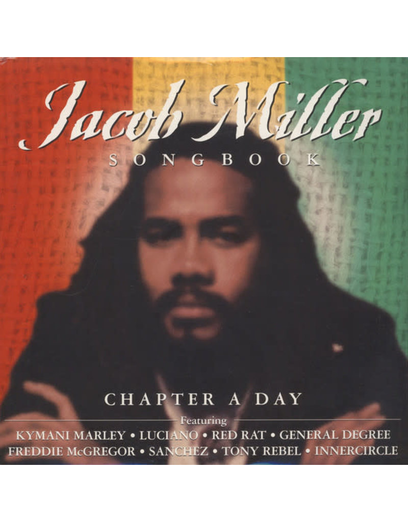 RG Jacob Miller ‎– Chapter A Day: Jacob Miller Song Book 2LP
