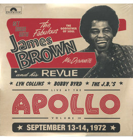 FS James Brown, Lyn Collins, Bobby Byrd, The J.B.'s – Get Down With James Brown: Live At The Apollo Volume IV 2LP
