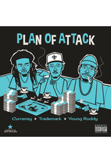 Curren$y (Currency), Trademark Da Skydiver, Young Roddy ‎– Plan Of Attack LP