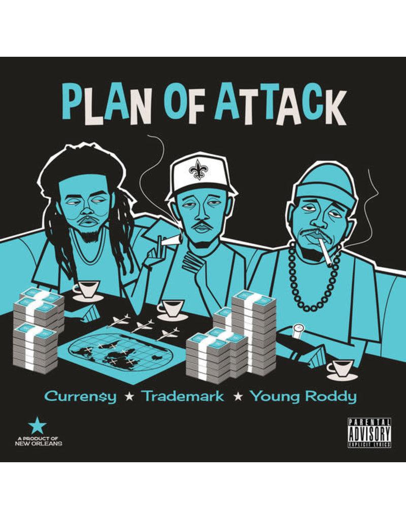 Curren$y, Trademark Da Skydiver, Young Roddy – Plan Of Attack LP