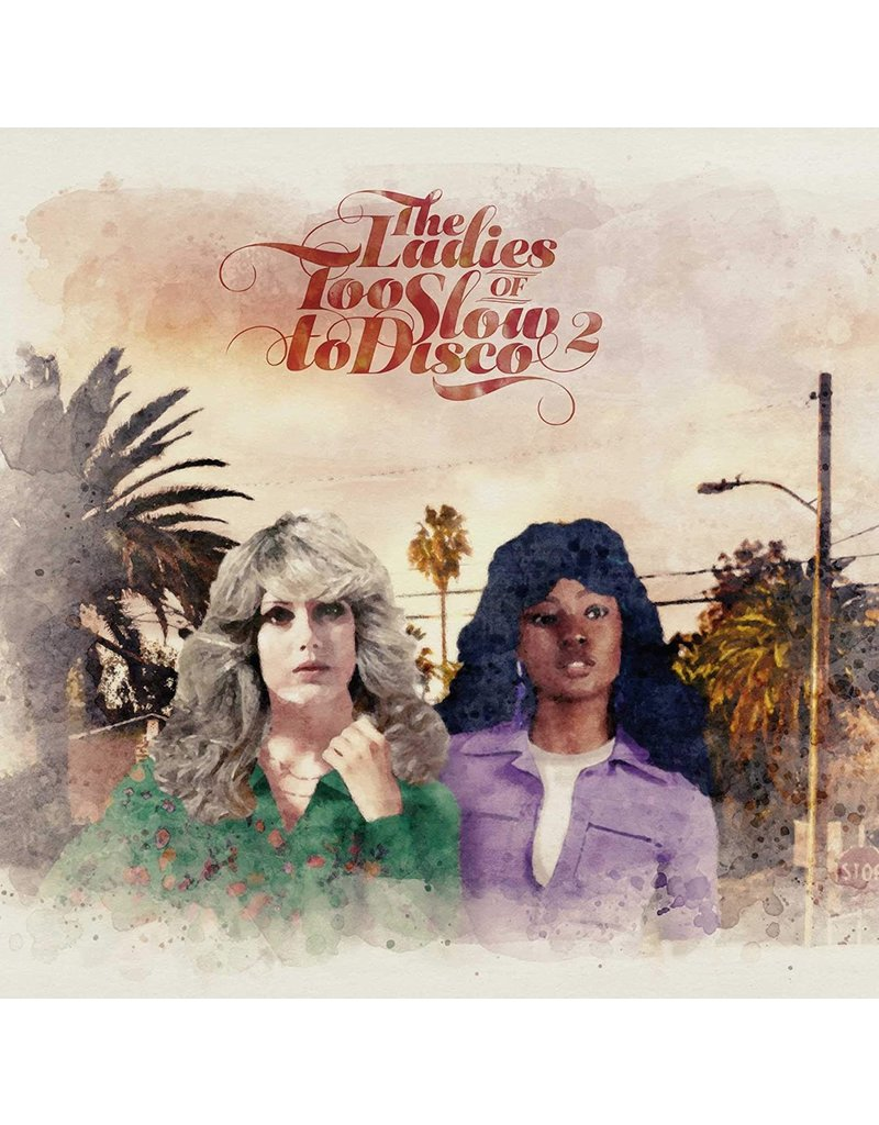 Various ‎– The Ladies Of Too Slow To Disco 2 2LP