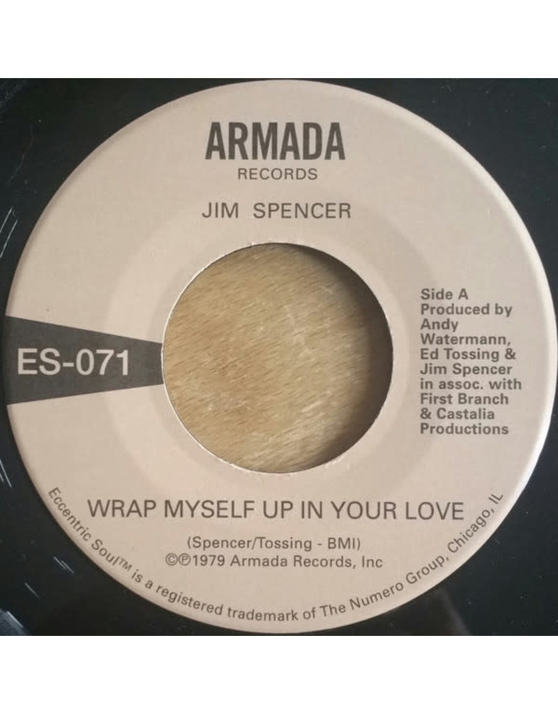 """Jim Spencer / Angie Jarée – Wrap Myself Up In Your Love 7"""""""