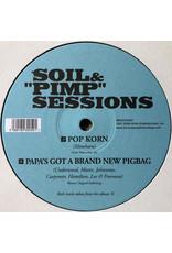 "Soil & ""Pimp"" Sessions – Pop Korn / Papa's Got A Brand New Pigbag 10"""