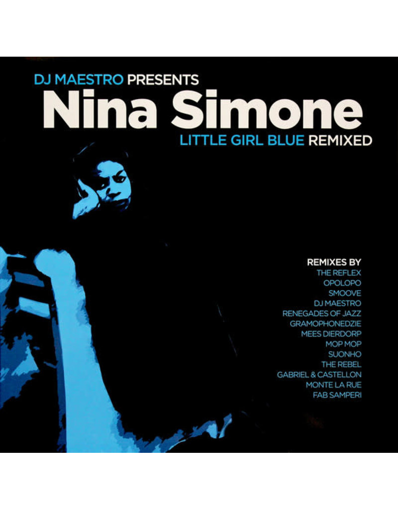 JZ DJ Maestro Presents Nina Simone ‎– Little Girl Blue (Remixed) 2LP