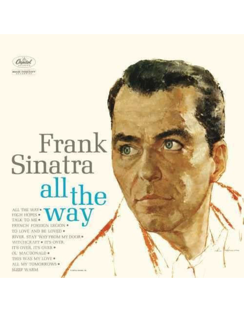 JZ Frank Sinatra ‎– All The Way LP