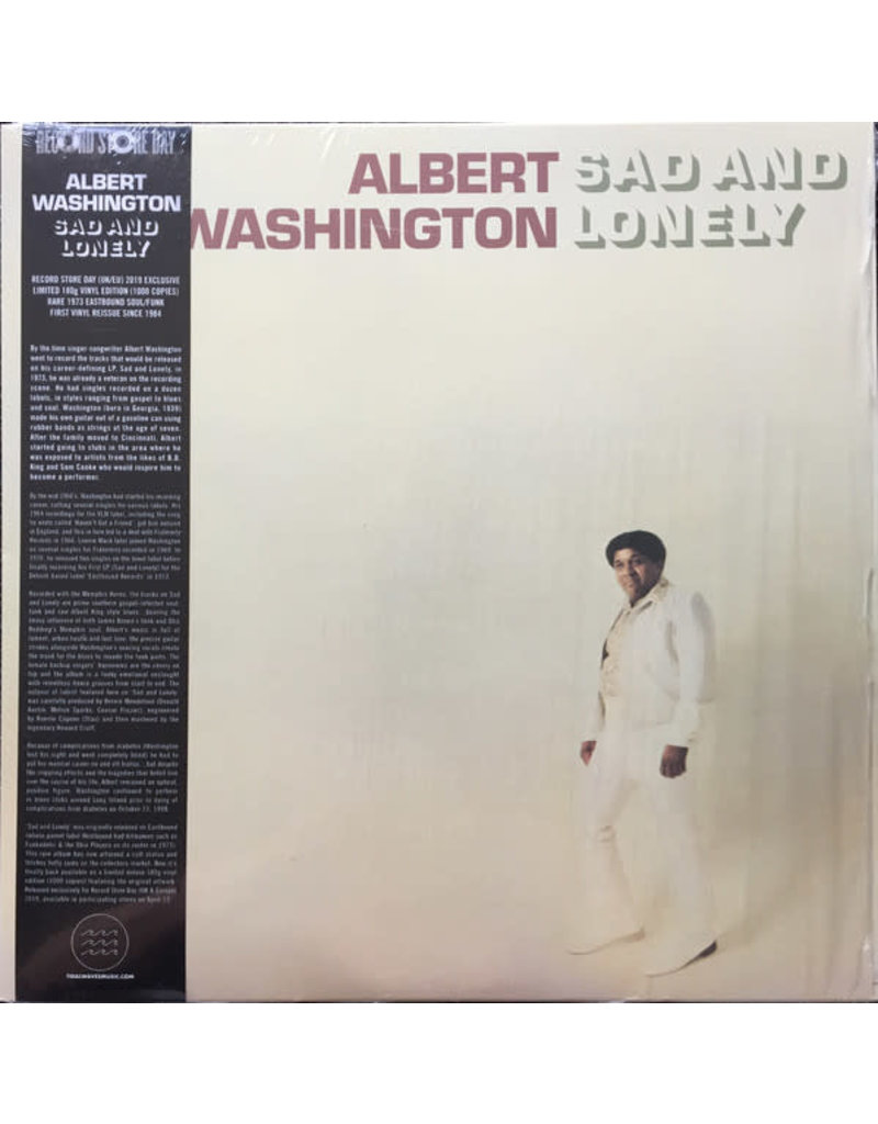 FS ALBERT WASHINGTON - SAD AND LONELY LP [RSD2019]