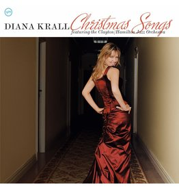 XM Diana Krall Featuring The Clayton/Hamilton Jazz Orchestra ‎– Christmas Songs LP