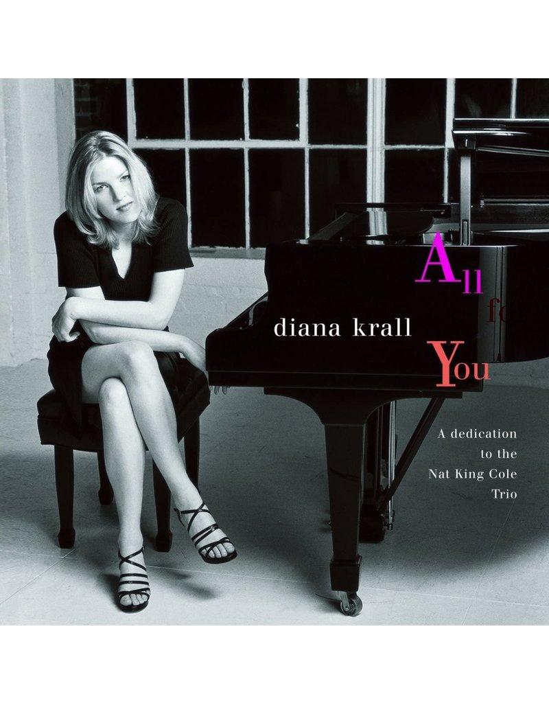 JZ Diana Krall ‎– All For You (A Dedication To The Nat King Cole Trio) 2LP