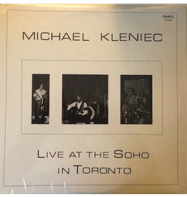 JZ Michael Kleniec ‎– Live At The Soho In Toronto LP