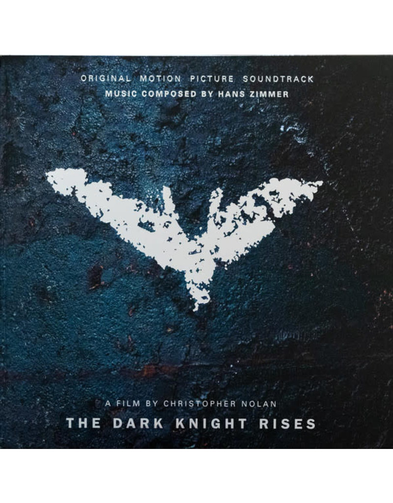 Hans Zimmer ‎– The Dark Knight Rises (Original Motion Picture Soundtrack) [Limited Edition Silver & Black Marbled Vinyl] LP