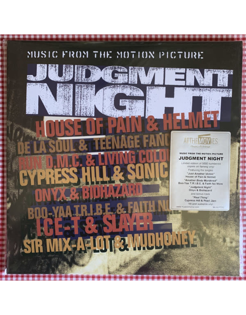 Various – Judgment Night (Music From The Motion Picture) [Coloured Vinyl] LP