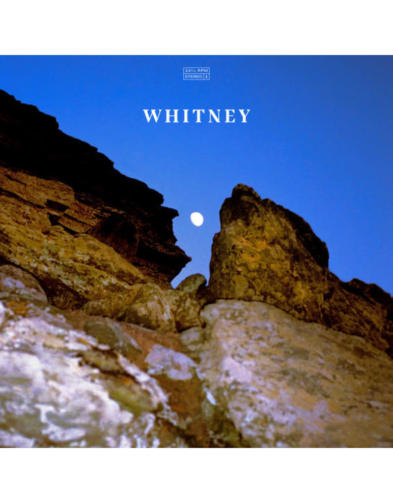 Whitney – Candid (Limited Edition Clear Blue Vinyl) LP