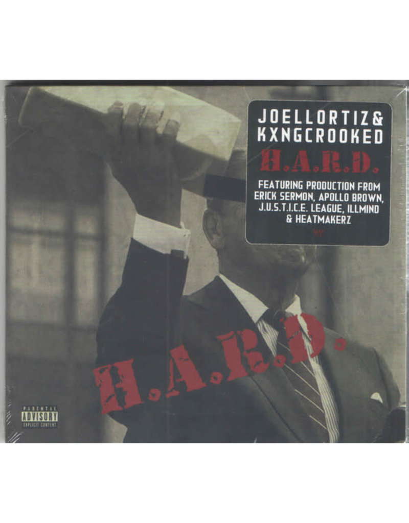 Joell Ortiz & KXNG Crooked – H.A.R.D. CD