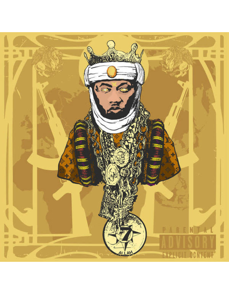 Planet Asia – A.G.E. (All Gold Everything) LP