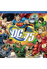 Various – The Music Of DC Comics: 75th Anniversary Collection (Limited Edition Translucent Red Vinyl) LP
