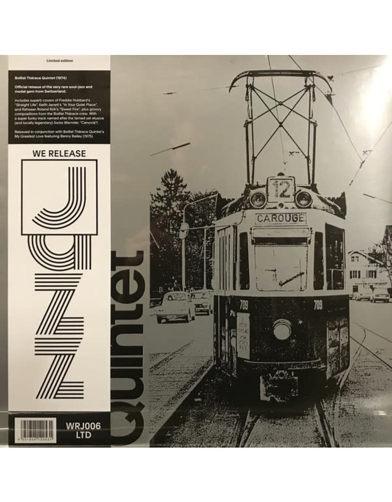 Boillat Therace Quintet - Boillat Therace Quintet LP