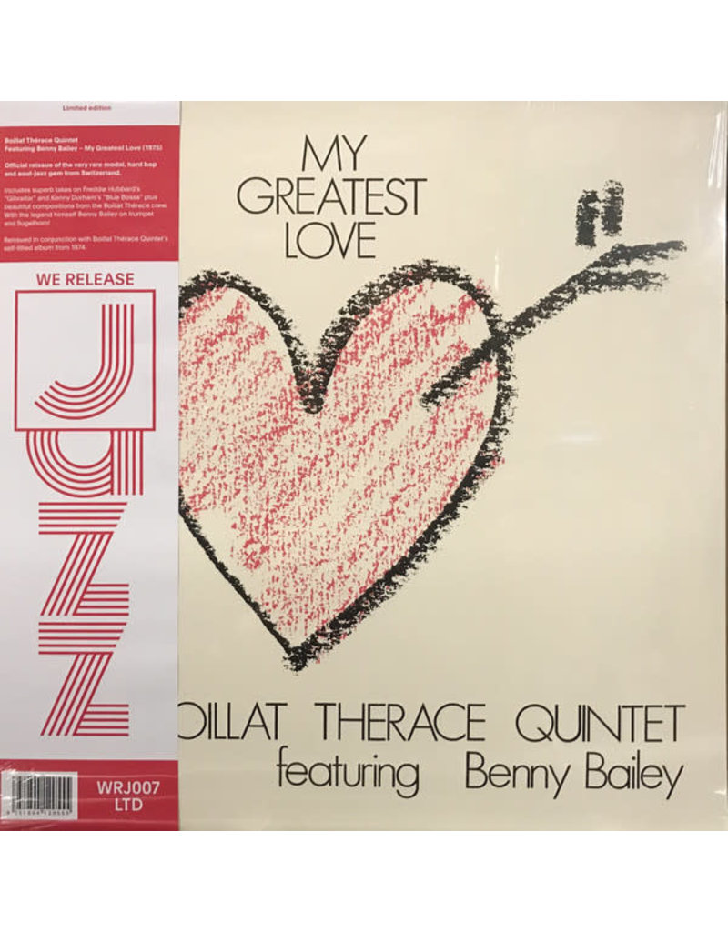 Boillat Thérace Quintet Featuring Benny Bailey – My Greatest Love LP