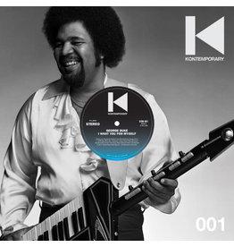 "DE George Duke – I Want You For Myself (Kon Remix) 12"""