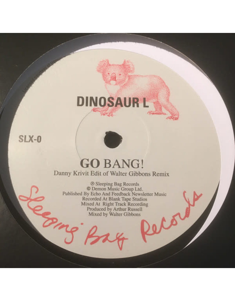 Dinosaur L / Hanson And Davis ‎– Go Bang! /I'll Take You On 12""