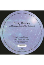 Craig Bratley ‎– A Message From The Outpost 12""