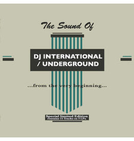 HS Various ‎– The Sound Of DJ International / Underground 3LP