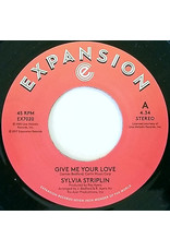 Sylvia Striplin ‎– Give Me Your Love 7""