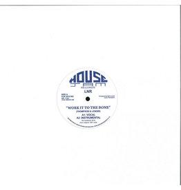 "LNR – Work It To The Bone (White Vinyl) 12"""