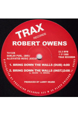 "Robert Owens – Bring Down The Walls (Red Vinyl) 12"""