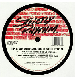 The Underground Solution ‎– Luv Dancin' 2x12""