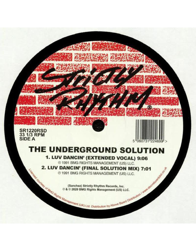 """The Underground Solution – Luv Dancin' 2x12"""""""