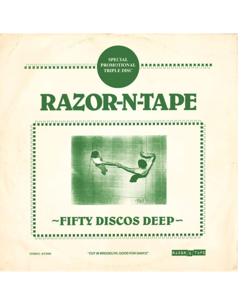 """Various – Fifty Discos Deep 3x12"""""""