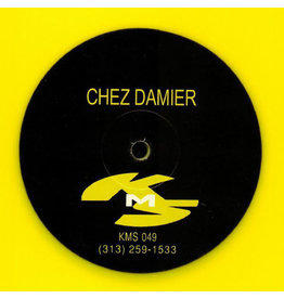 Chez Damier ‎– Untitled (Yellow Vinyl) 12""