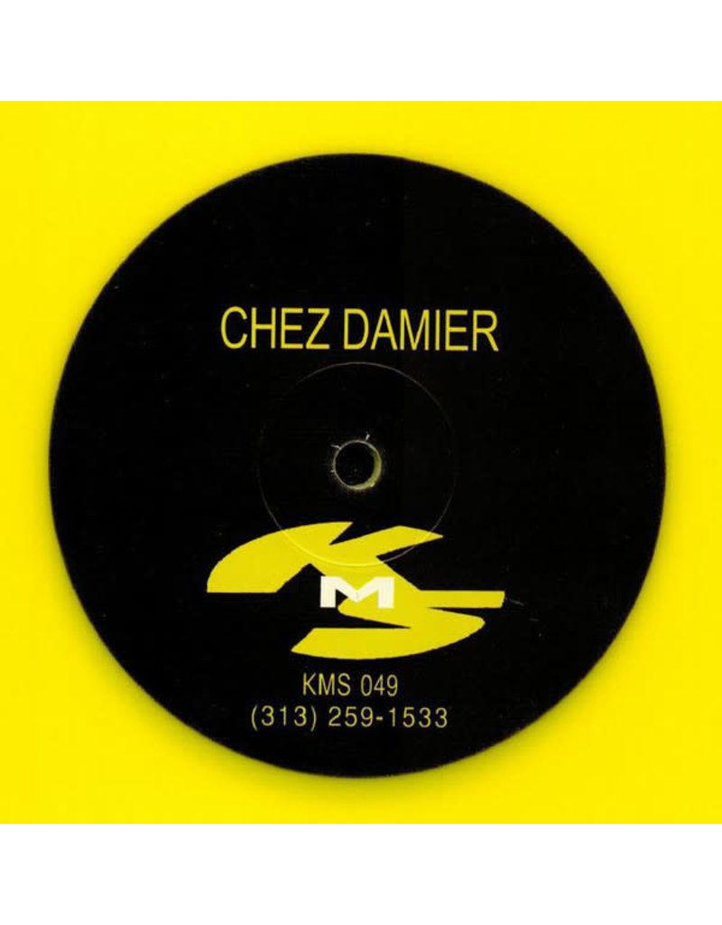 "Chez Damier - Untitled (Yellow Vinyl) 12"" (2020), Limited 300"