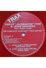 """Farley """"Jackmaster"""" Funk & Jesse Saunders Feat. Darryl Pandy – The Complete Love Can't Turn Around 12"""""""