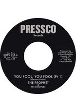 The Prophet & His Disciples ‎– You Fool, You Fool 7""