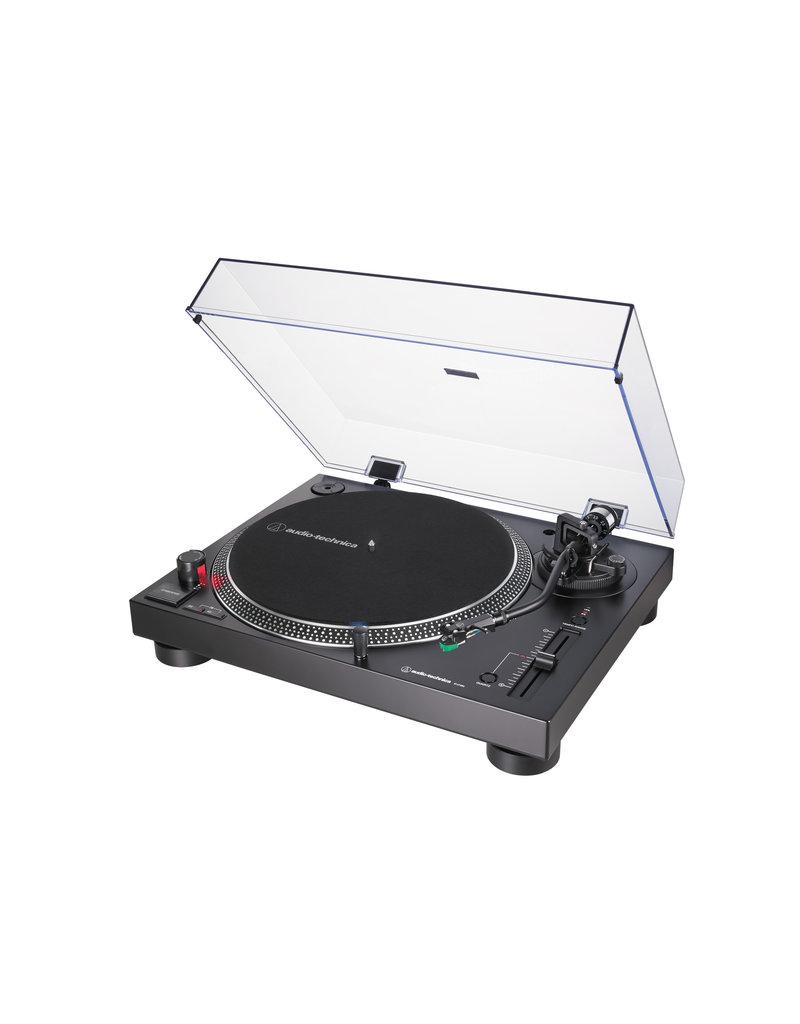 AUDIO TECHNICA LP120XUSB DIRECT-DRIVE TURNTABLE - BLACK
