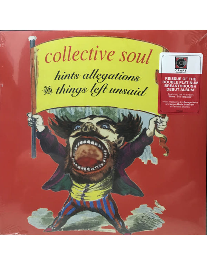 Collective Soul – Hints Allegations And Things Left Unsaid LP
