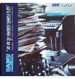 HH Damu The Fudgemunk – 20 Favorite Sample Flips LP