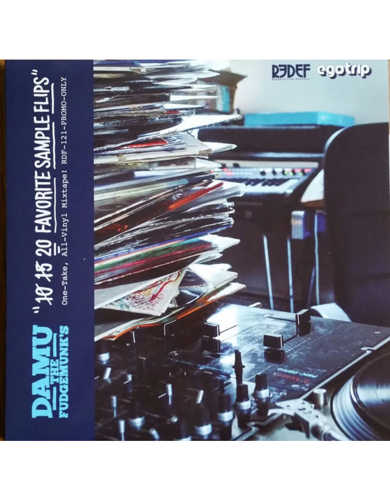 HH Damu The Fudgemunk ‎– 20 Favorite Sample Flips LP