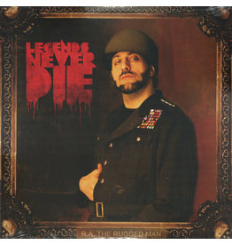 HH R.A. The Rugged Man - Legends Never Die (2XLP)
