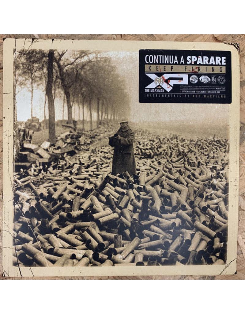 XP The Marxman – Continua A Sparare (Keep Firing) LP