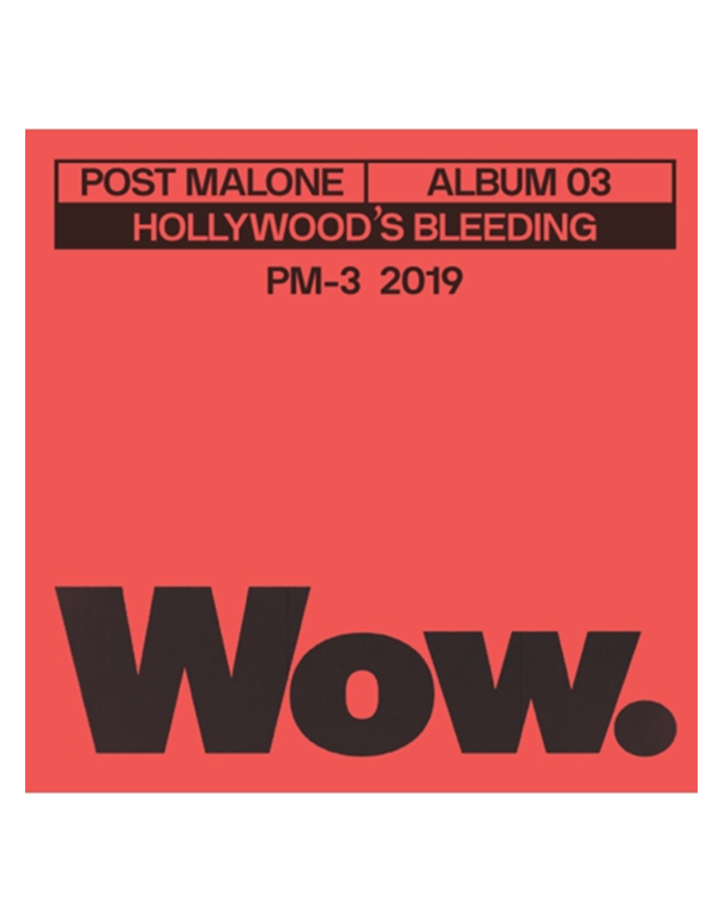 "Post Malone - Wow 3"" Vinyl"