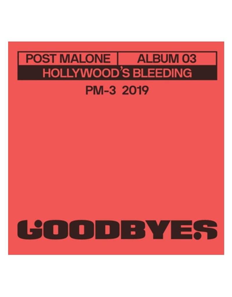 "Post Malone - Goodbyes 3"" Vinyl"