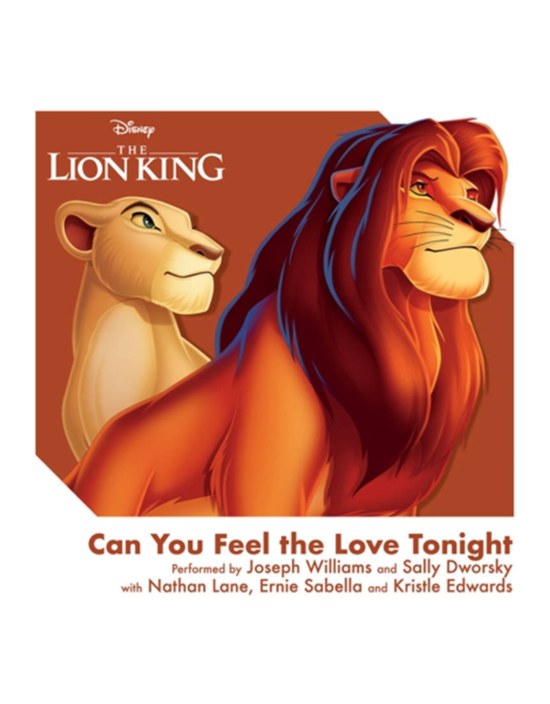 """The Lion King - Can You Feel The Love Tonight 3"""" Vinyl"""
