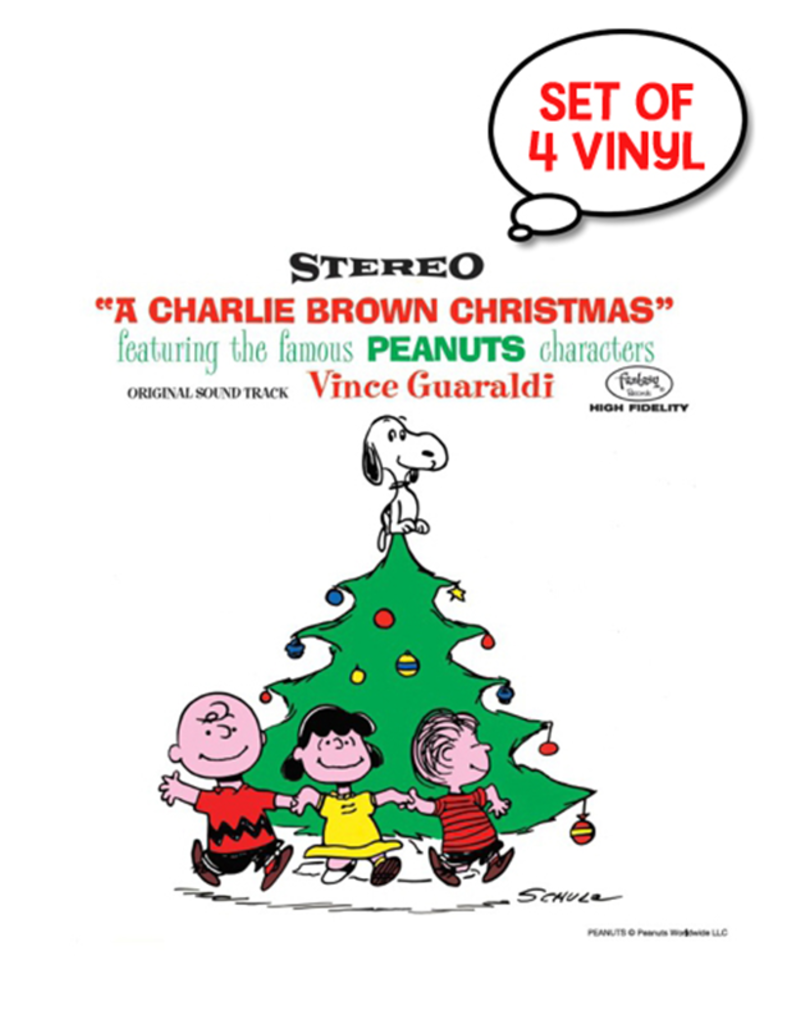 "A Charlie Brown Christmas RSD 3"" Vinyl - Blind Box Set of 4 Records"