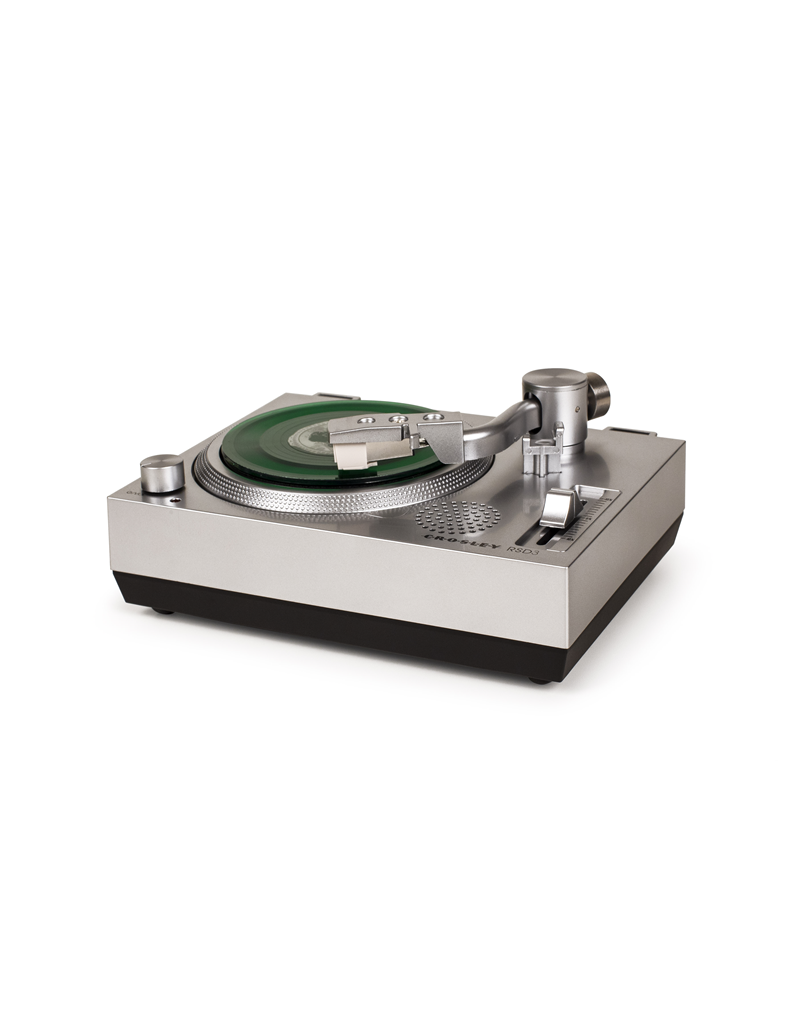 """2020 Record Store Day Exclusive Mini Turntable for 3"""" Vinyl (Silver)"""