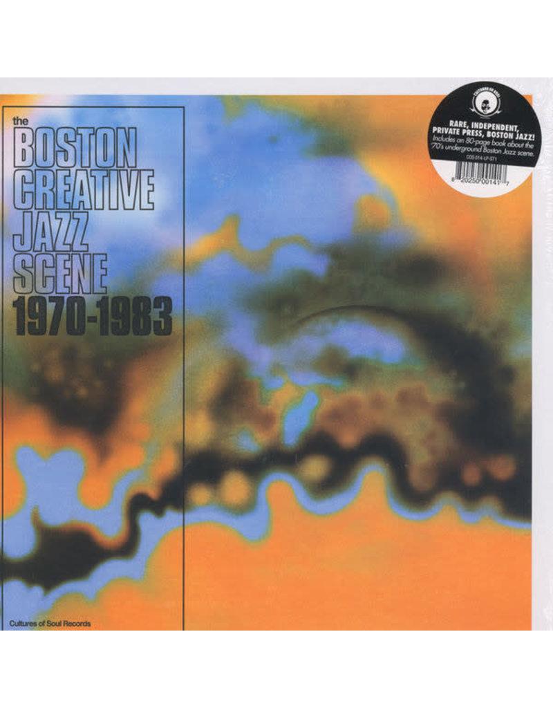 JZ Various – Boston Creative Jazz Scene 1970 - 1983 2LP