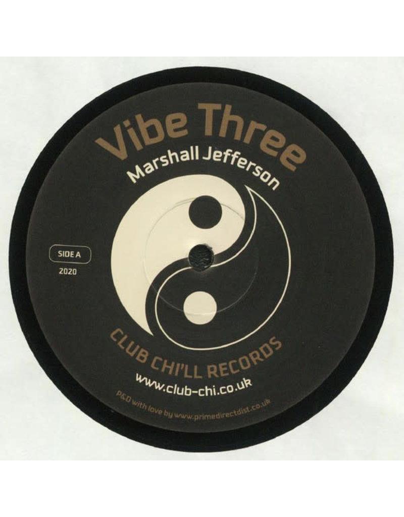 "Marshall Jefferson / Jungle Wonz – Vibe Three / Human Condition 12"""