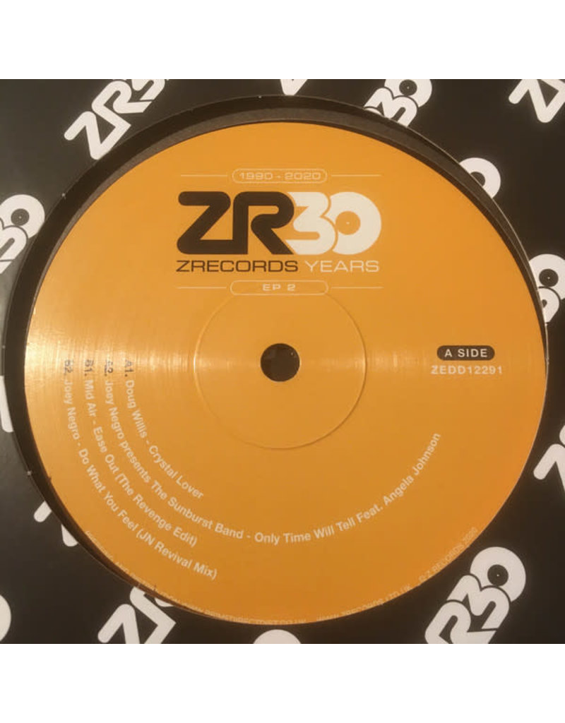 """Various – 30 Years Of Z Records EP 2 12"""""""